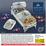 3 Division Oblong Party Set